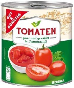 GG Całe Obrane Pomidory W Sosie Pomidorowym 800g