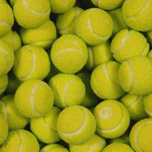 Fizzy Tennis Balls Bubble Guma Żucia Piłki Tenisowe 1szt