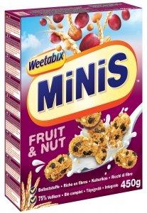 Weetabix Minis Fruit Nus Ciasteczka Do Mleka Dieta Wege