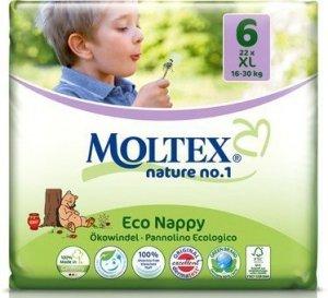 Moltex 6 Eko Jednorazowe Pieluszki 16-30kg