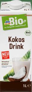 Bio Napój Kokosowy Bez Cukru Laktozy 1l Wegański