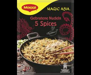 Maggi Makaron Azjatycki 5 przypraw Ostre 2 porcje