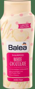 Balea White Chokolate Szampon Biała Czekolada 300