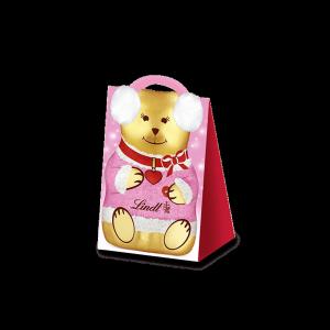 Lindt Czekoladowy Teddy Różowy Torebce 60g