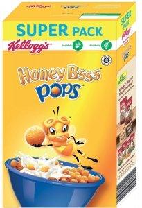 Kellogg's Honey Bss Pops Miodowe Kulki Witaminy 375