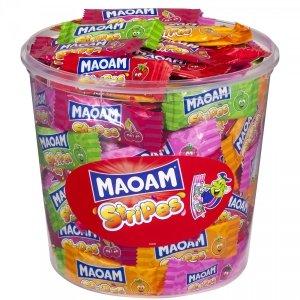 MAOAM Stripes gumy rozpuszczalne owocowe 150szt