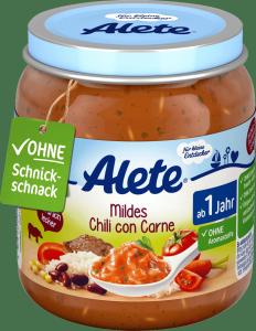 Alete Delikatne Chili con Carne z wołowiną 250g 12m