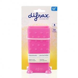Difrax pojemnik na soczek w kartoniku Różowy