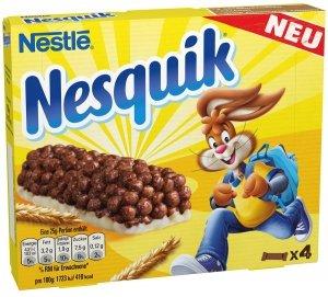 Nestle Nesquik Zbożowe Batony 4szt Niemcy