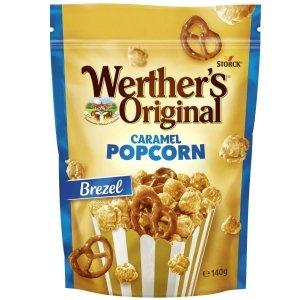 Storck Werther`s Caramel Popcorn Brezel karmelowy 140g