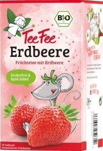 TeeFee BIO Herbatka Owcowa Z Truskawkami  100% Natural Wegan
