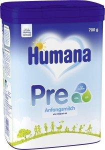 Humana PRE Początkowe mleko od urodzenia 700g