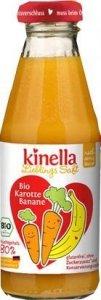 Kinella 100% BIO Sok Marchewka Banan Wit. C 4m 200ml