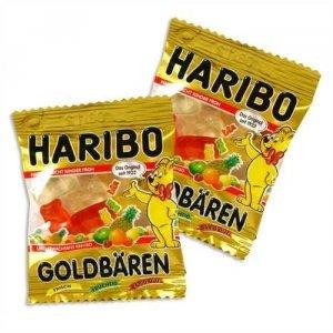 Haribo Gold Baren Żelki Misie 2 Mini Paczuszki Z DE