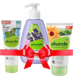 Alverde Zestaw kosmetyków Prezent Choinkę Święta