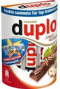 Ferrero Duplo Batoniki Maxi Pack 10szt Niemcy