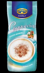 Kruger Cappuccino Kokos Mandel Migdałowo Kokosowe 500g