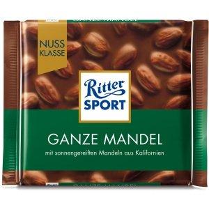 Ritter Sport Ganze Mandel czekolada z Migdałami 100