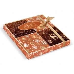 Lindt Goldstuke Rose Prezent Świąteczna Mix Pralinek 180g