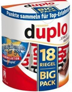 Ferrero Duplo Batoniki Big Pack 18szt Niemcy