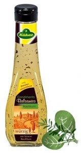 Kuhne Ocet Balsamico Condimento Z Bazylia Wegan