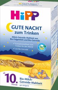 HIPP Bio Mleko na Spokojny Sen Zboża Owies 10m 500g