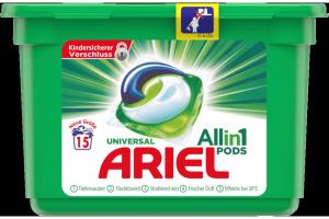 Ariel Kapsułki do prania All in 1 Uniwersalne 15p