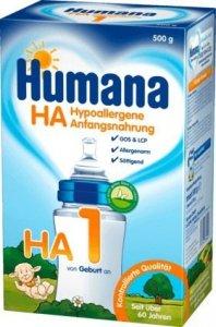 Humana HA 1 mleko poczatkowe 500g