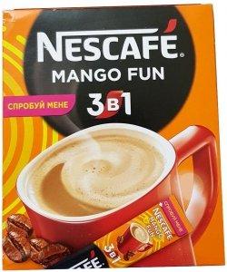 Nescafe Kawa Rozpuszczalna 3w1 Mango Fun Mango 20 szt