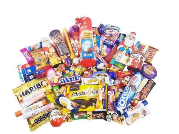 Największa Paczka Słodyczy na Mikołaja Niemiec 3,5 kg