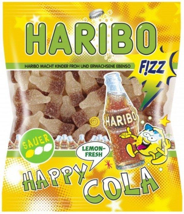 Haribo żelki Happy Cola Lemon Fresh kwaśne 200 FV