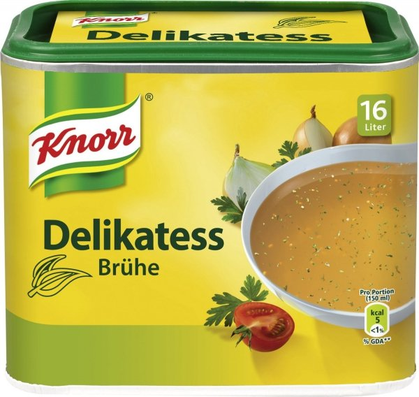 Knorr Delikatess Bruhe Bulion rosół instant 16 litrów 0.329g