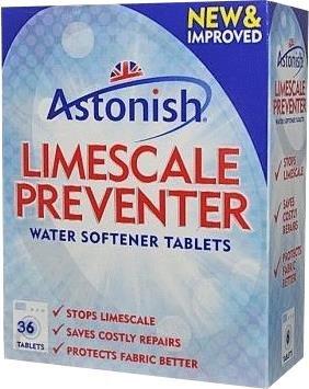 Astonish  odkamieniacz do pralki 32 tabletki