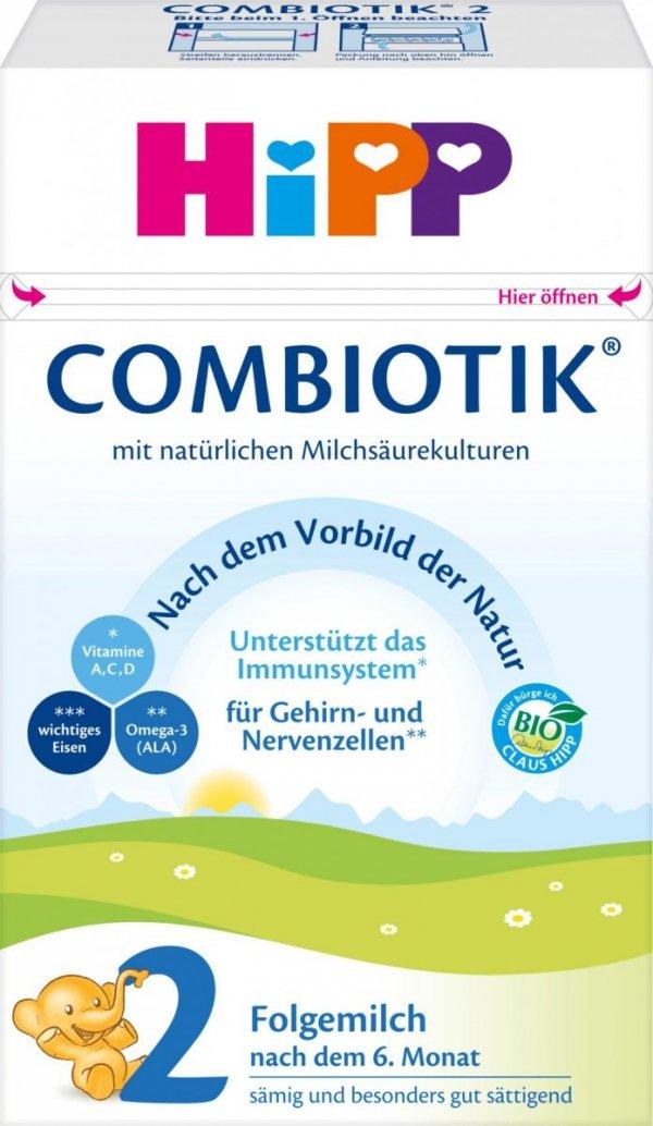hipp-2-bio-combiotik-600g-mleko-po-6-miesiącu-niemieckie
