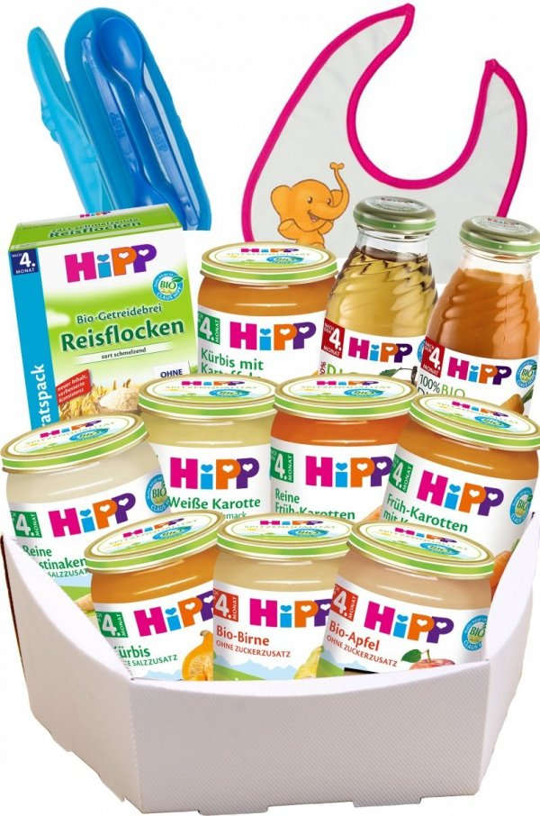 m-din Hipp Wyprawka Niespodzianka Warzywa Kaszki 4m