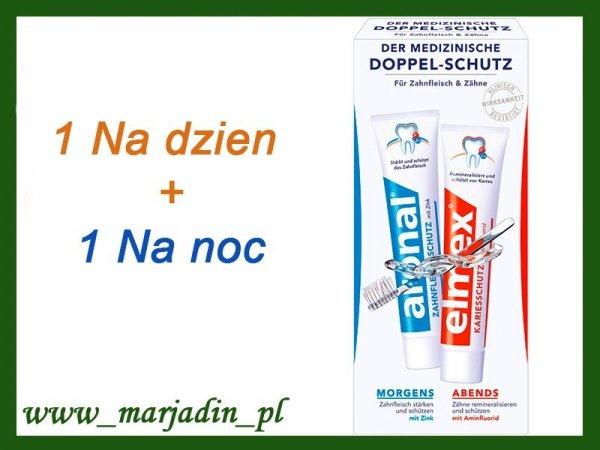 Aronal + Elmex 2 Pasty do zębów 2x75 DE