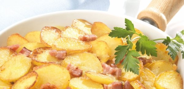 Gotowe Spożycia Ziemniaki gotowane z Boczkiem Talarki Plasterki Bratkartoffeln 3kg