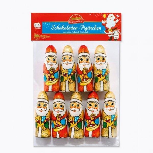 Czekoladowe figurki Mikołaje 100 gr