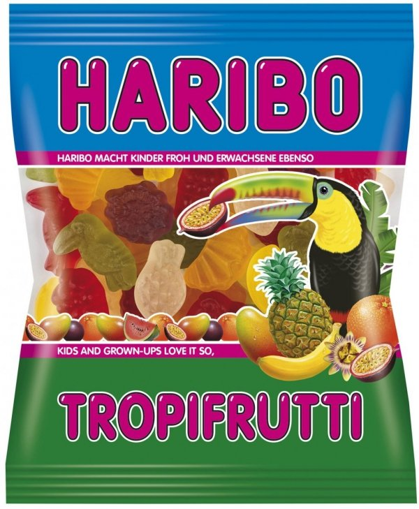Haribo Żelki Tropifrutti owoce tropikalne 200 FV