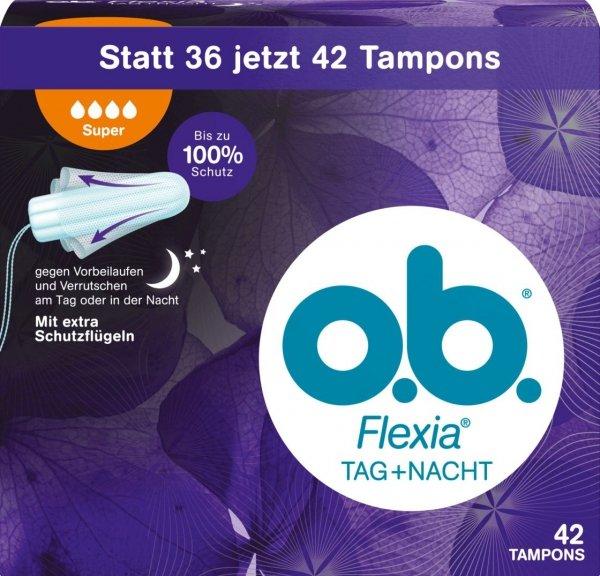 OB Flexia Super 42 szt Tampony Niemcy Dzien Noc