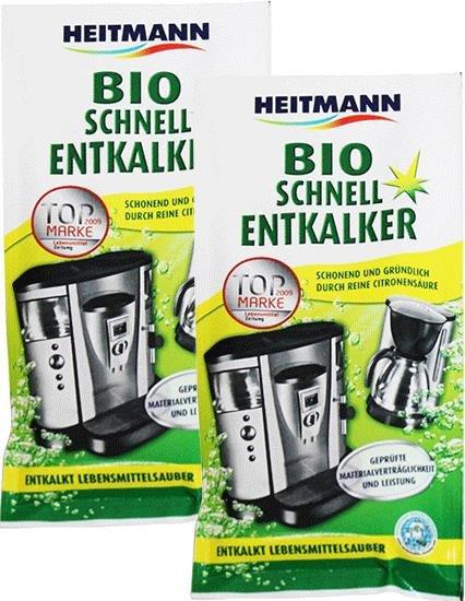 HEITMANN szybki odkamieniacz bio z Niemiec 2pack