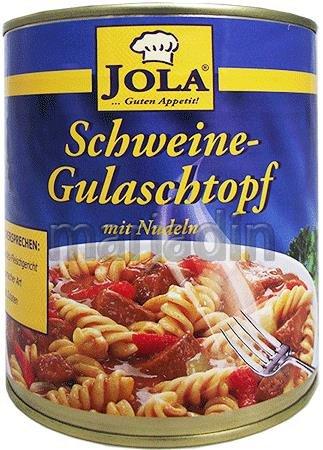 Jola Gotowe danie Gulasz z makaronem i papryką 800gr