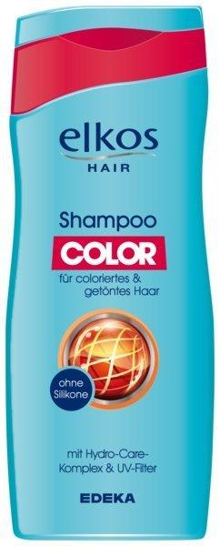 Elkos szampon do włosów farbowanych 300 BEZ SILIKONU