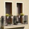 Nowoczesne doniczki balkonowe podwójne