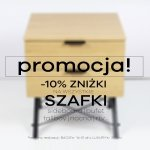 Październikowa promocja na szafki Minko