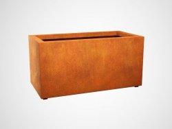 Donica metalowa - Corten LARGO 6 1200x600x600