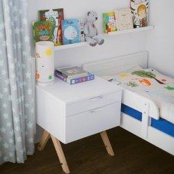 Kontenerek Kids Basic 50x50xH65cm z 2 szufladami