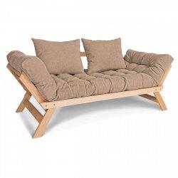 Allegro Sofa rozkładana - beż Woodman