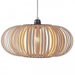 Stripes N° 2 Nowoczesna lampa drewniana  Woolights