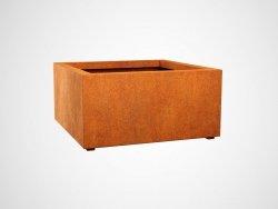Donica metalowa - Corten BAJO 6 900x900x450